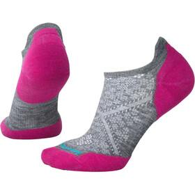 Smartwool Run Targeted Cushion Low Ankle Socks Women, grigio/rosa